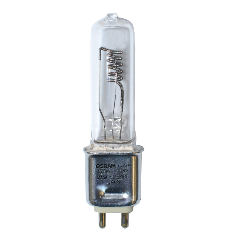 OSRAM FLK/X Long Life 575w 115v G9.5 Single Ended Halogen Bulb