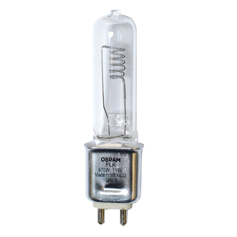 FLK bulb Osram Sylvania 575w 115v G9.5 3200k Single Ended Halogen Light Bulb