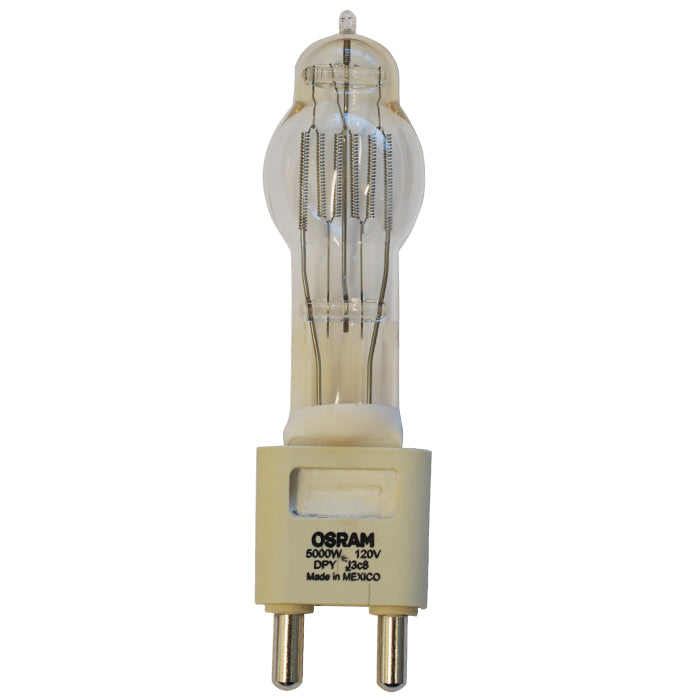 OSRAM DPY 5000w 120v G38 base 3200k Halogen Light Bulb