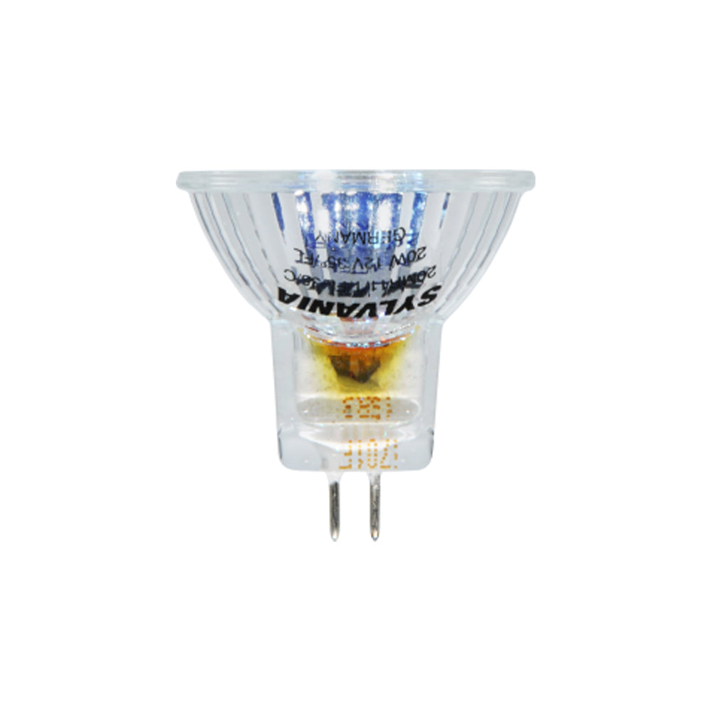 SYLVANIA FTB 20w 12v MR11 Titanium SP10 Halogen Lamp