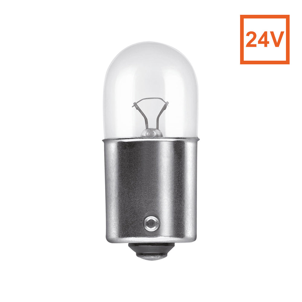 Osram 5627 R5W 24V 5W BA15s Automotive Bulb - Engineered for Trucks and Buses