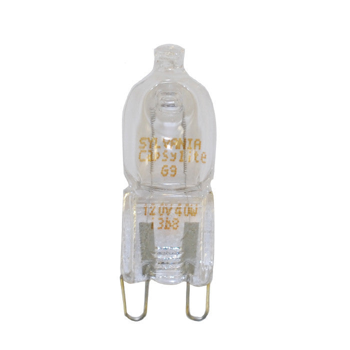 SYLVANIA 40W 120V T4 G9 2-Pin Halogen Light Bulb