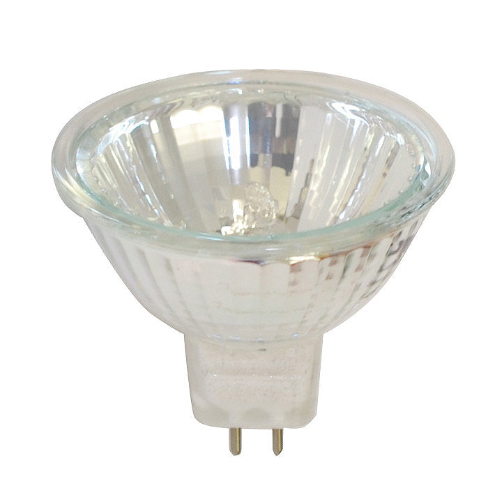 EXZ Sylvania MR16 50w 12v NFL25 w/ Front Glass FG GU5.3 Flood Halogen Light Bulb