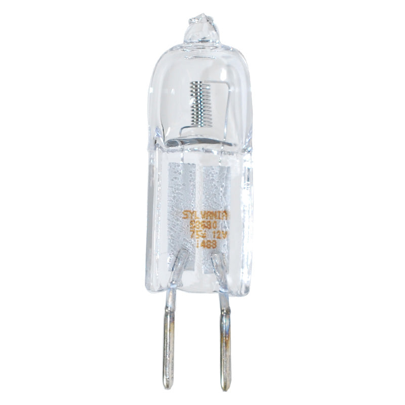 SYLVANIA 75w 12v Starlite Bi-Pin Quartz Halogen GY6.35 4000Hr Light Bulb