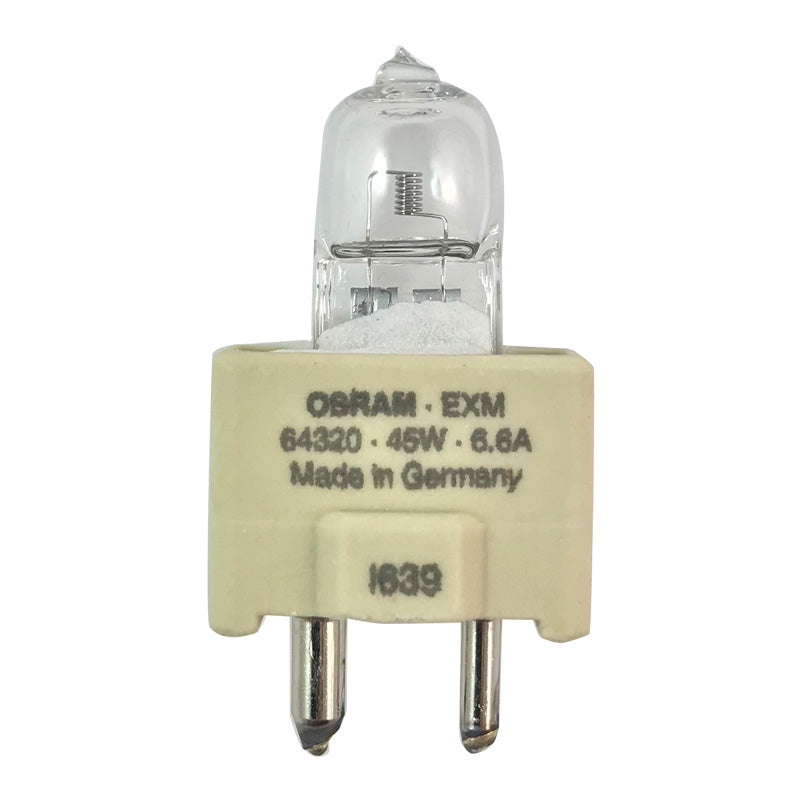 OSRAM 45W EXM T4 GZ9.5 6.6A Single Ended Halogen Light Bulb