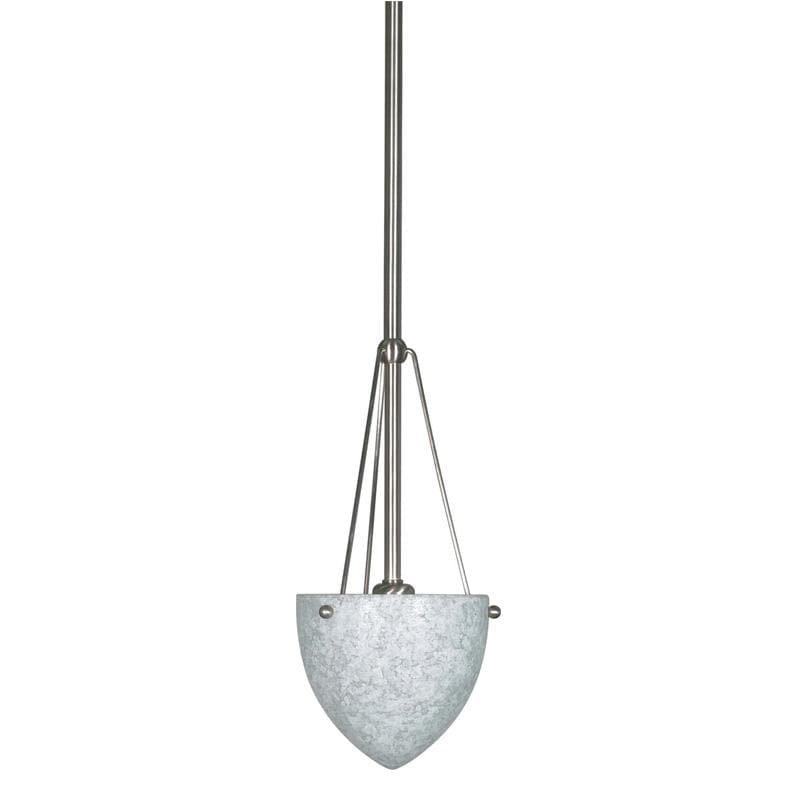 Nuvo South Beach - 1 Light - 6 inch - Mini Pendant - w/ Hang-Straight Canopy
