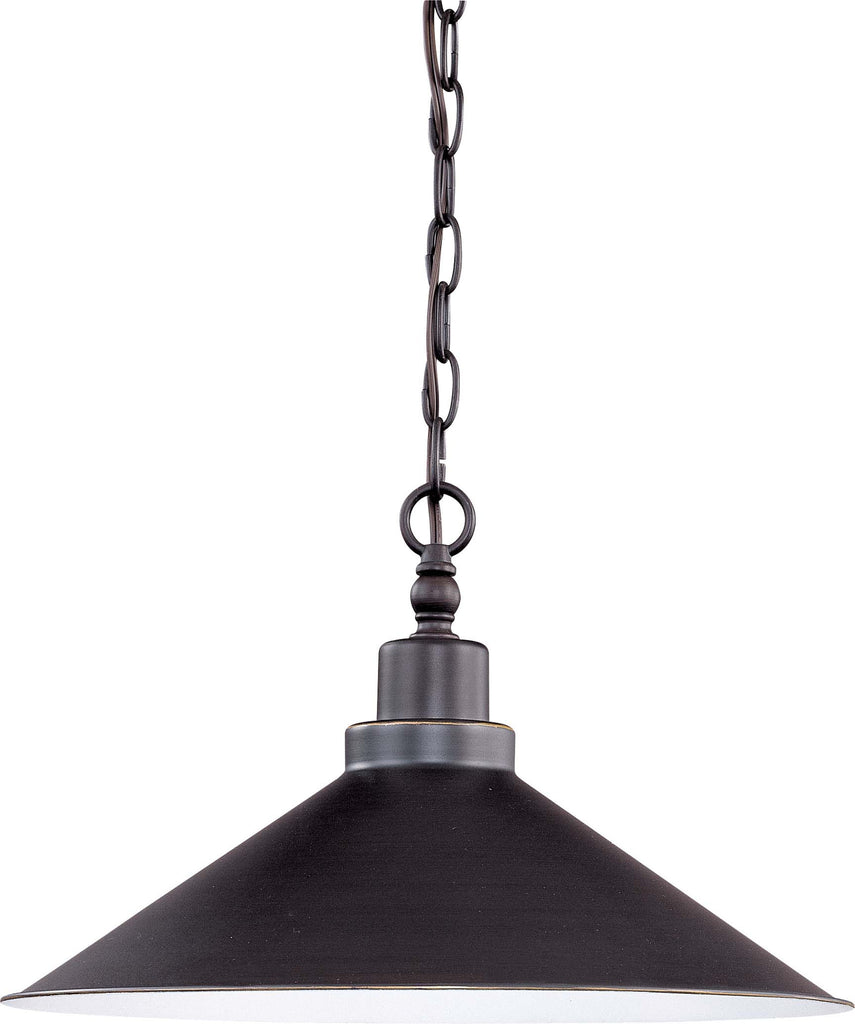 Nuvo Bridgeview - 1 Light Pendant with 48 inch Chain