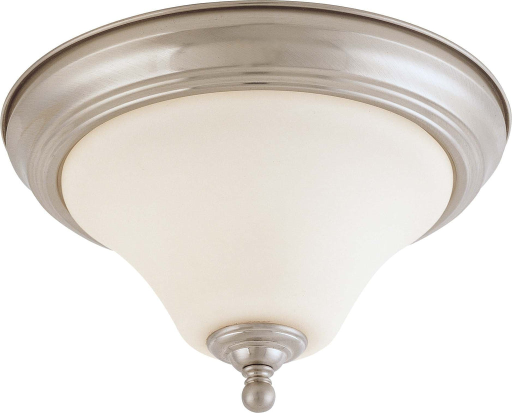 Nuvo Dupont ES - 1 light 11 inch Flush Mount w/ Satin White Glass - 13w GU24 Lamp Included