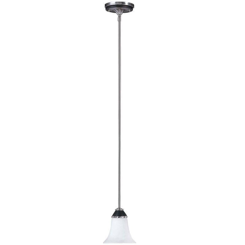 Nuvo Keen - 1 Light Mini Pendant w/ Satin White Glass
