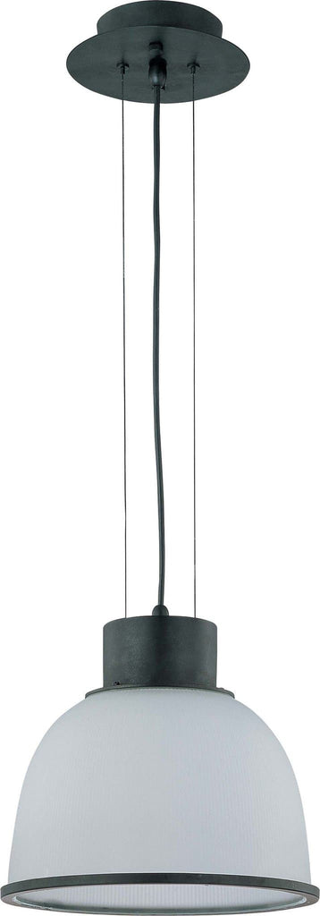 Nuvo Gear - 1 Light 12 inch Pendant w/ Frosted Prismatic Glass