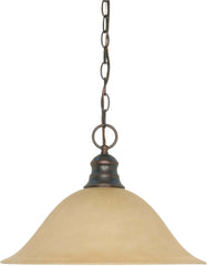 Nuvo 1 Light 16 inch Pendant w/ Champagne Glass - (1) 18w GU24 Lamp Incl.