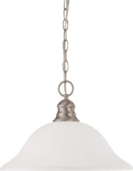 Nuvo 1 Light 16 inch Pendant w/ Frosted White Glass - (1) 18w GU24 Lamp Incl.