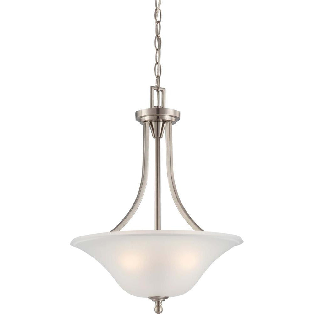 Nuvo Surrey - 3 Light Pendant Fixture w/ Frosted Glass