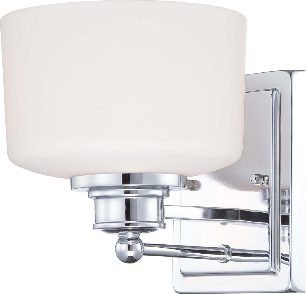 Nuvo Soho - 1 Light Vanity Fixture w/ Satin White Glass