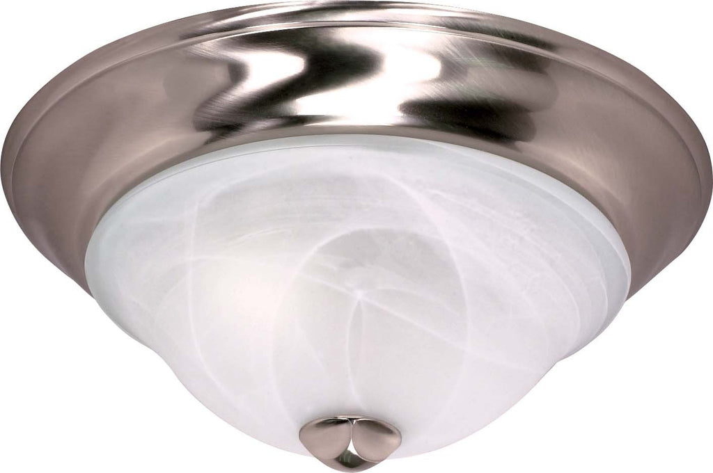Nuvo Triumph - 2 Light Cfl - 13 inch - Flush Mount - (2) 13W GU24 Lamps Included