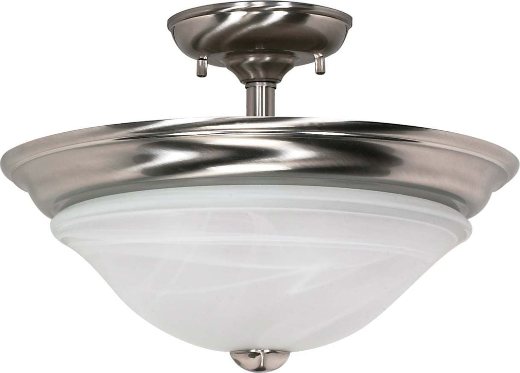 Nuvo Triumph - 2 Light Cfl - 16 inch - Semi-Flush - (2) 18W GU24 Lamps Included