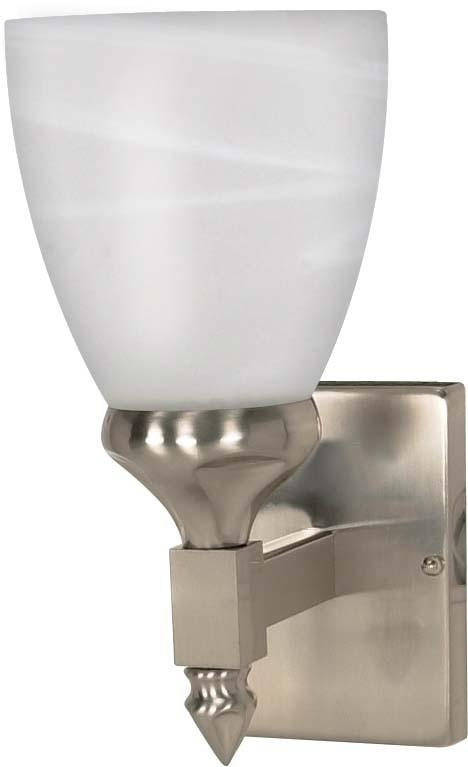 Nuvo Triumph - 1 Light Cfl - 5 inch - Vanity - (1) 13W GU24 Lamps Included