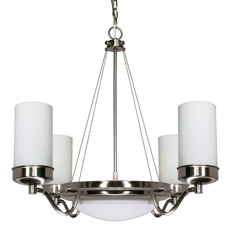 Nuvo Polaris - 6 Light Cfl - 29 inch - Chandelier - (6) 13W GU24 Lamps Included