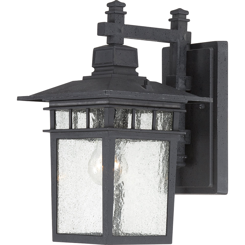 "Cove Neck - 1 Light - 14"" Outdoor Lantern W/ Clear Seed Glass"