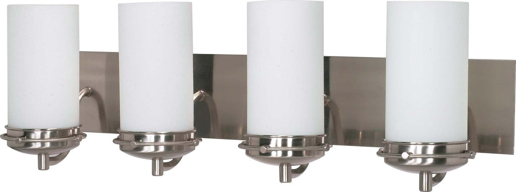 Nuvo Polaris - 4 Light Cfl - 30 inch - Vanity - (4) 13W GU24 Lamps Included