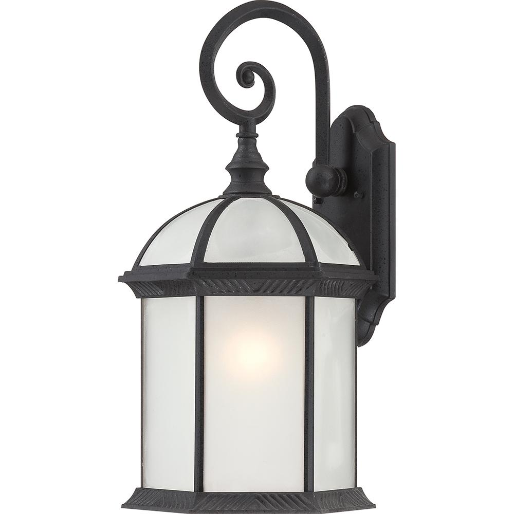"Boxwood ES - 1 Light - 19"" Outdoor Wall W/ Frosted Glass - Bulb Included"