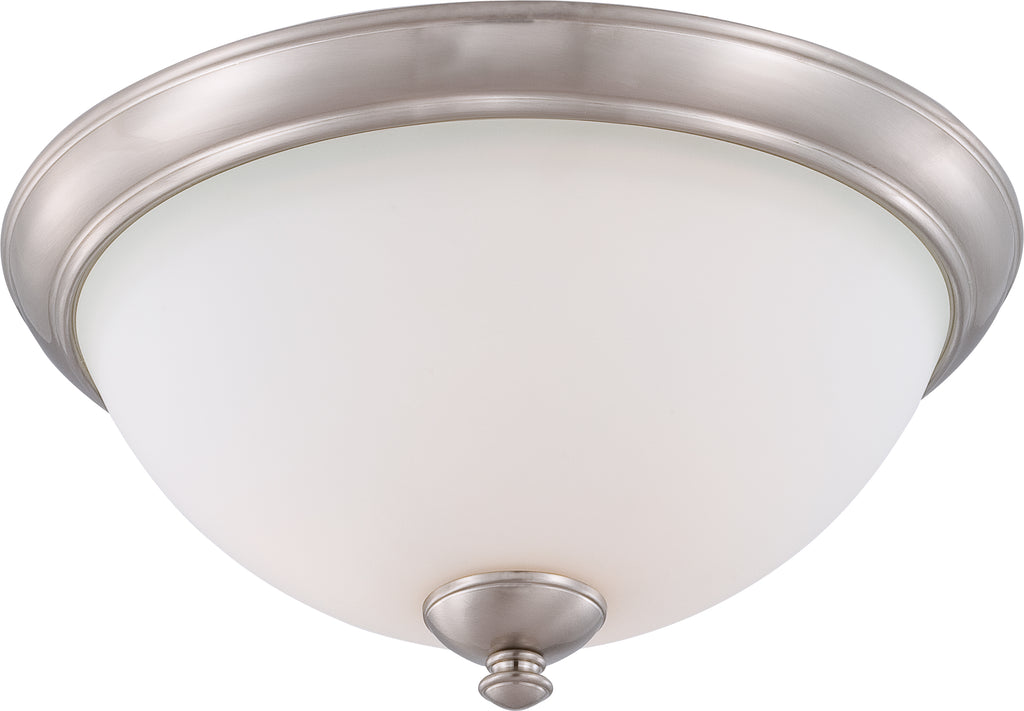 Patton - 3 Light Flush Fixture w/ Frosted Glass