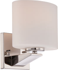 Breeze - 1 Light Vanity Fixture w/ Etched Opal Glass
