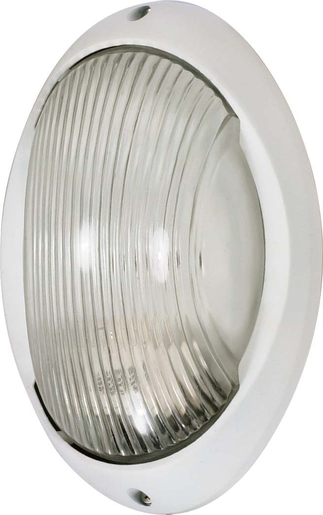 Nuvo 1 Light - 11 inch - Large Oval Bulk Head - Die Cast Bulk Head