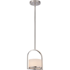 Celine - 1 Light Mini Pendant w/ Etched Opal Glass