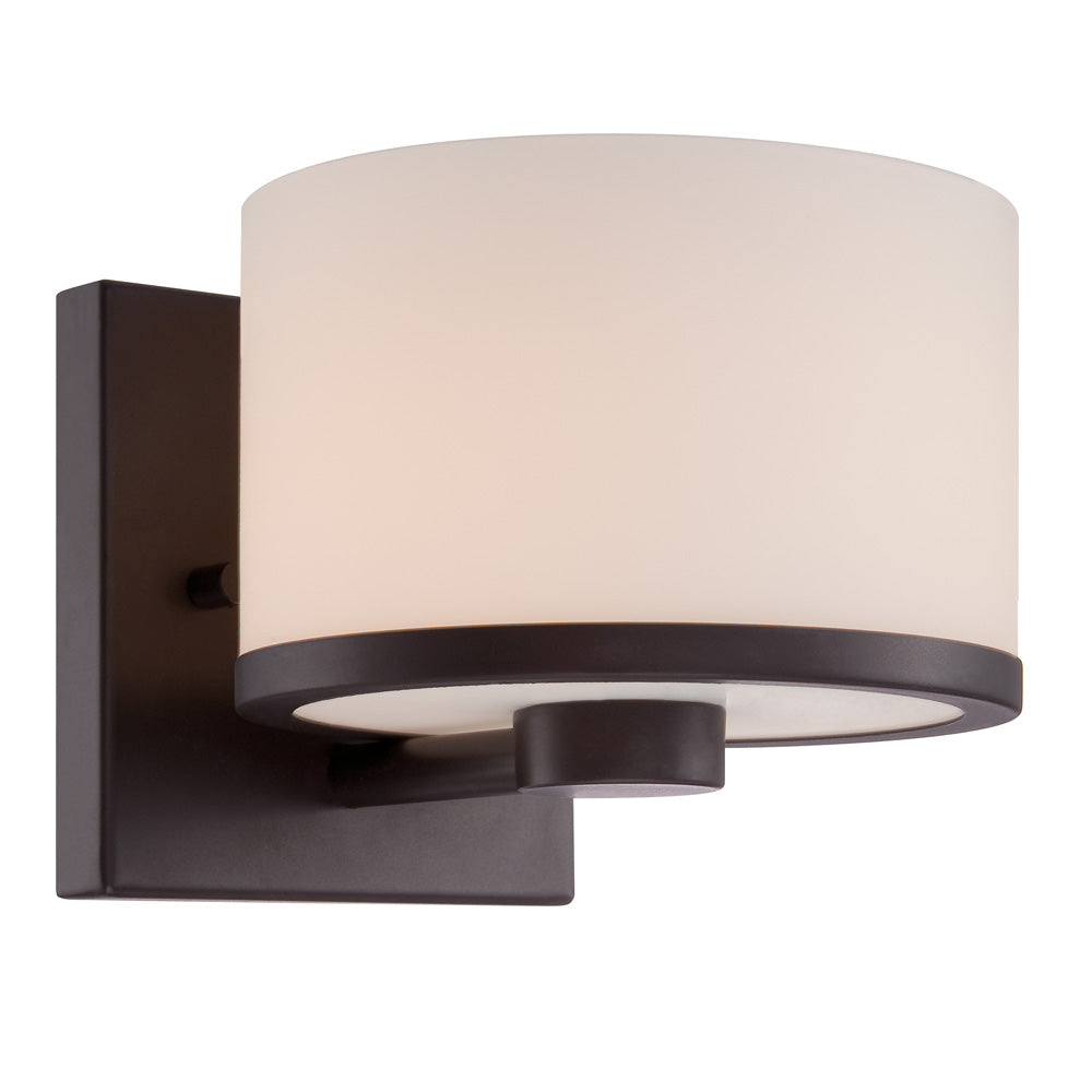 Celine - 1 Light Vanity Fixture w/ Etched Opal Glass