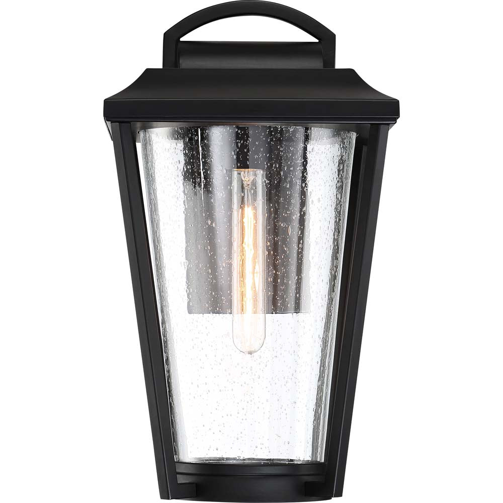 Nuvo Lighting 60w Lakeview 1-Light Small Lantern Aged Bronze / Glass Finish