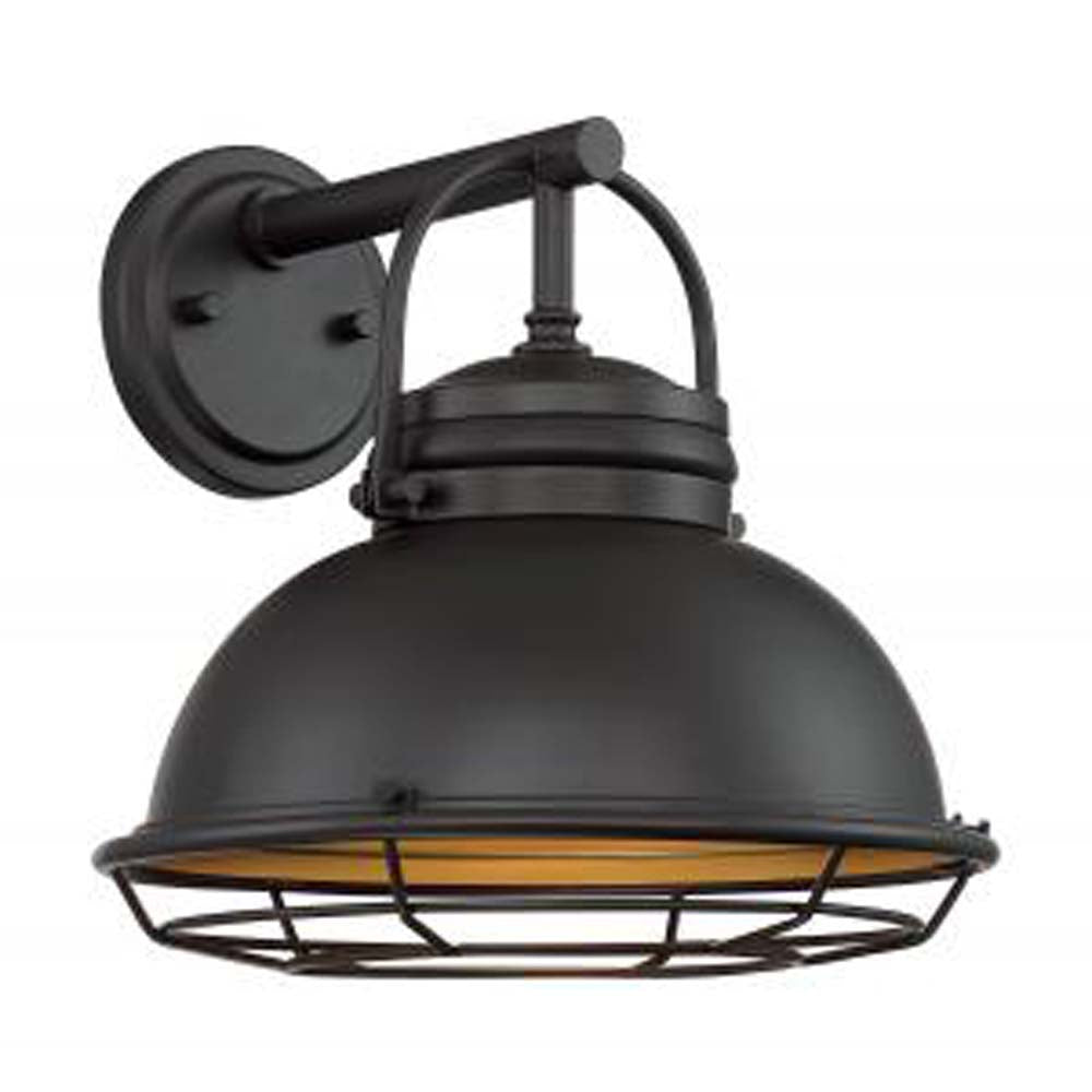 """Nuvo Upton 1-Light 12"""" Wall Sconce Fixtures w/ Dark Bronze & Gold Finish"""
