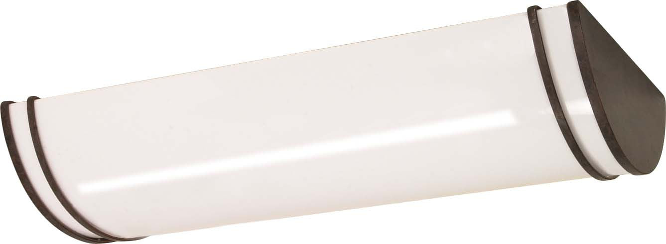 """Nuvo Glamour 3-Light 25"""" Ceiling Fluorescent in Old Bronze Finish"""