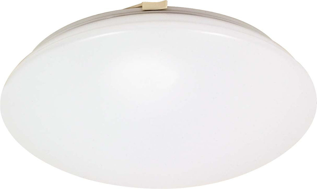Nuvo Crispo - 2 Light Cfl - 15 inch - Flush Mount - (2) 18w GU24 Lamps Included