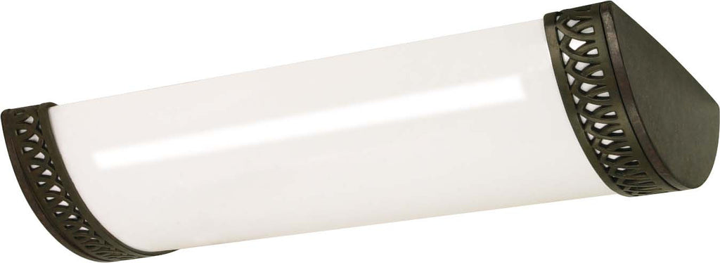 Nuvo Rustica - 3 Light - 25 inch - Ceiling - Fluorescent - (3) F17T8