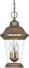 Nuvo Clarion - 3 Light - 17 inch - Hanging Lantern - w/ Clear Seed Glass