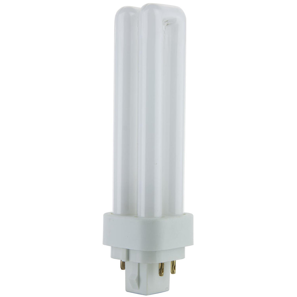 SUNLITE 13w G24q-1 PLD 4-Pin Double U-Shaped Twin Tube 6500K Daylight Lamp