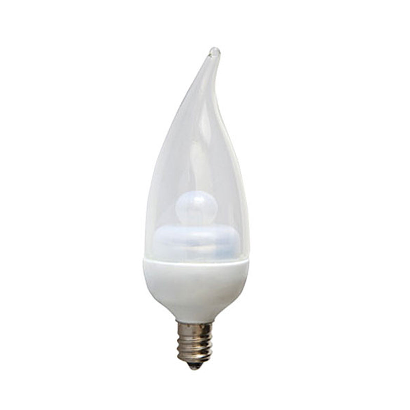 GE 1.8W CA11 120V E12 3000k LED Energy Smart Candelabra Light Bulb