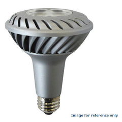 GE 63027 10W LED PAR30L Silver E26 2700k Flood FL35 120V Energy Smart Light Bulb
