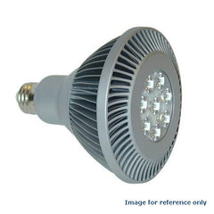 GE 20W PAR38 LED 3000K Flood 40 deg Silver Light Bulb
