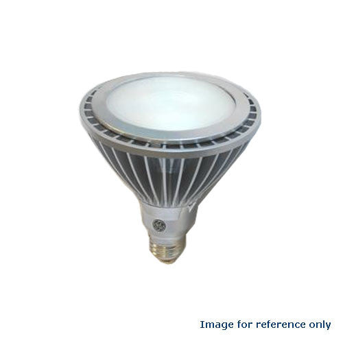 GE 61930 17W LED PAR38 3000k E26 120V Spot SP15 Energy Smart Silver Light Bulb