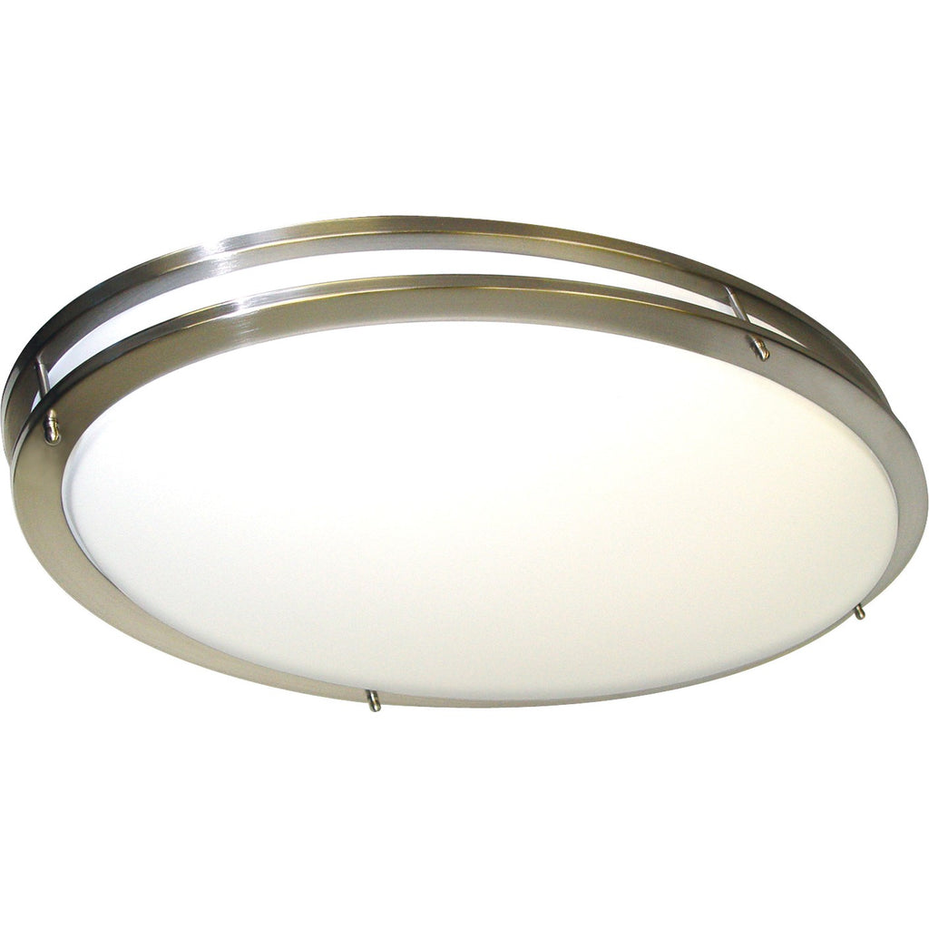 Nuvo 62-1041 Glamour LED 32 Inch Oval Flush Mount Fixture