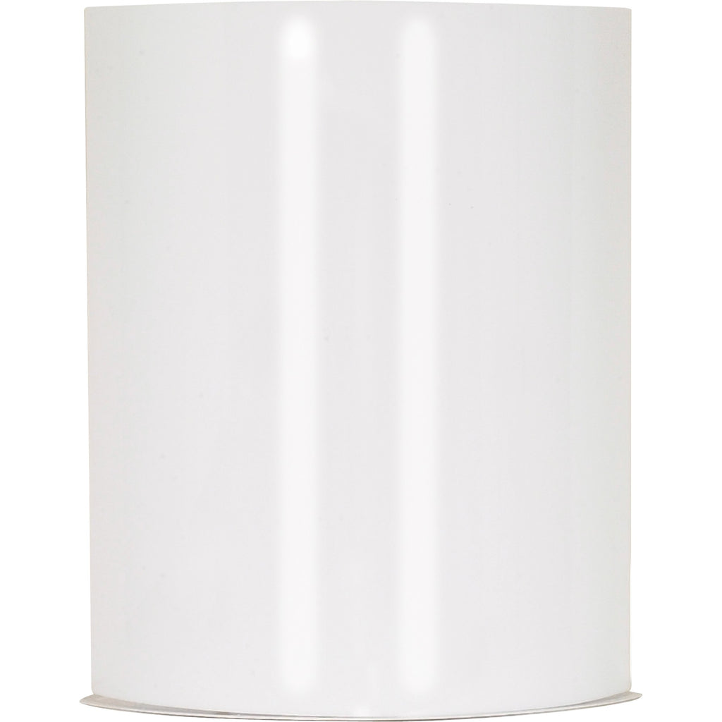 "Crispo LED 9"" Wall Sconce - White Finish - Lamps Included"
