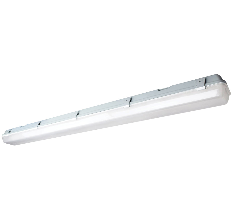 1-Light Commercial Products Light Fixture in White Finish