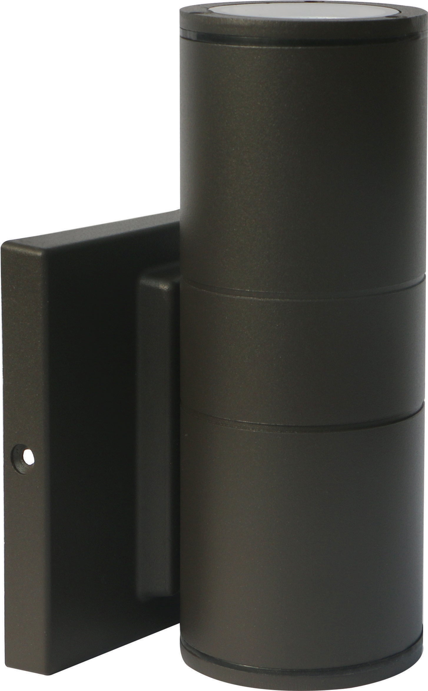 Nuvo 1-Light 10w Outdoor LED Wall Light Small Up or Down Sconce in Bronze Finish