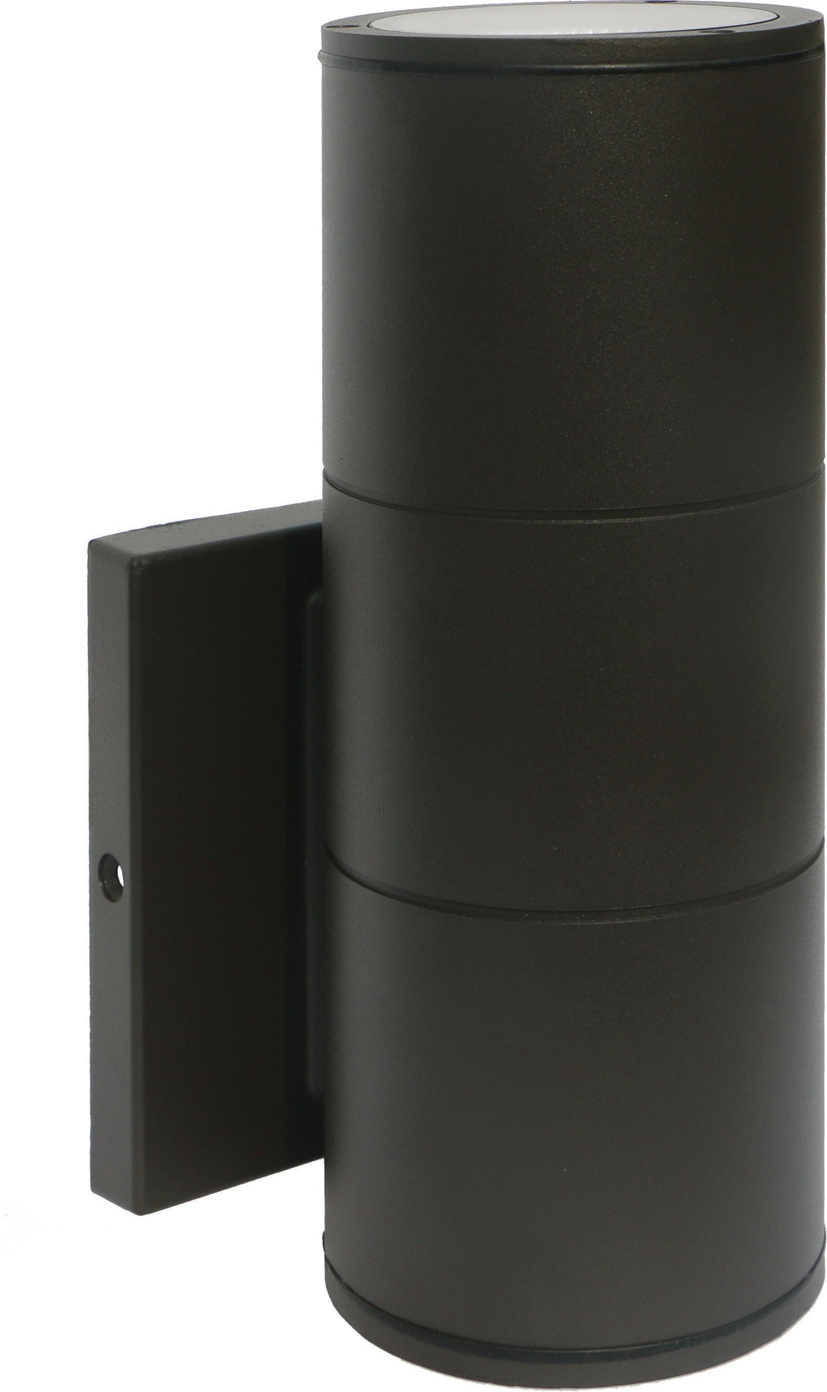 Nuvo 1-Light 10w Outdoor LED Wall Light Large Up or Down Sconce in Bronze Finish