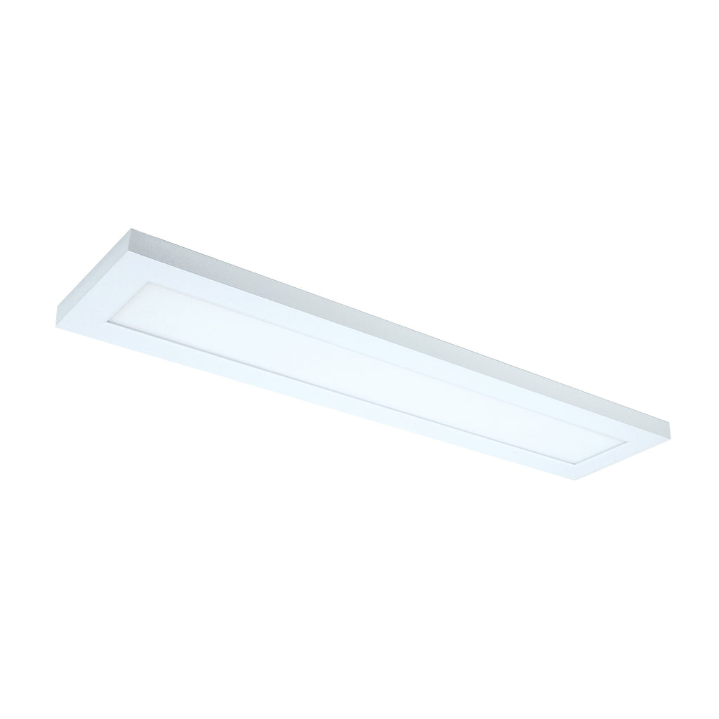 "22W 5"" x 24"" Surface Mount LED Fixture 5000K White Finish 120/277V"