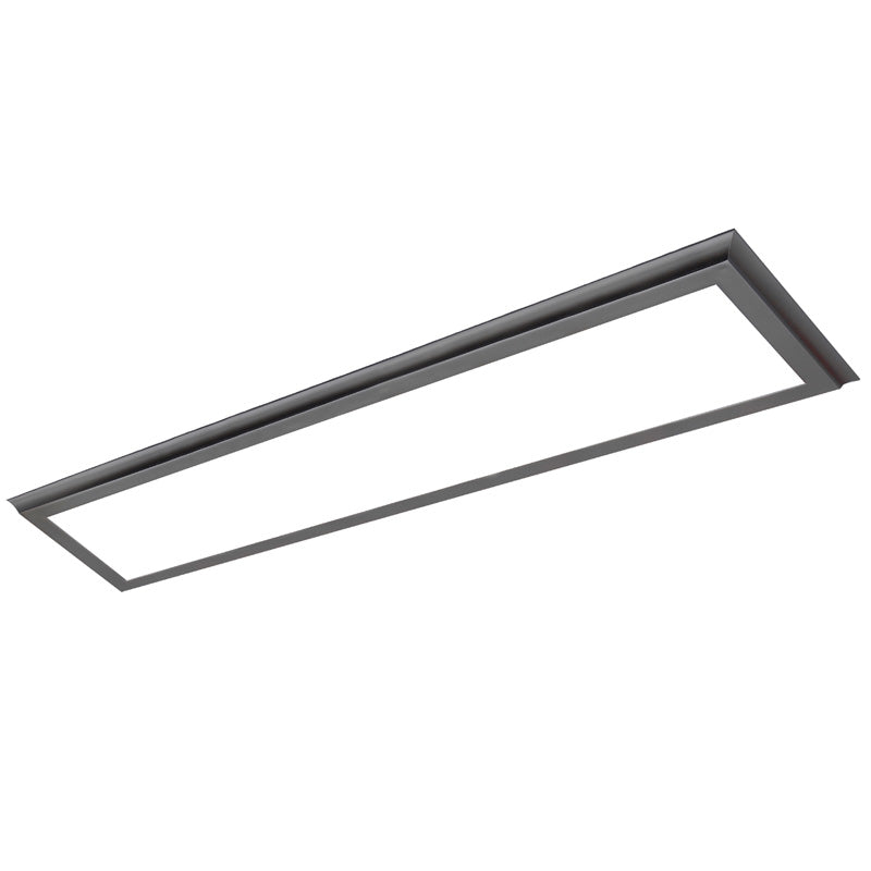 Nuvo Blink Plus 45w LED 13x49in Surface Mount LED Fixture - White - 3000K