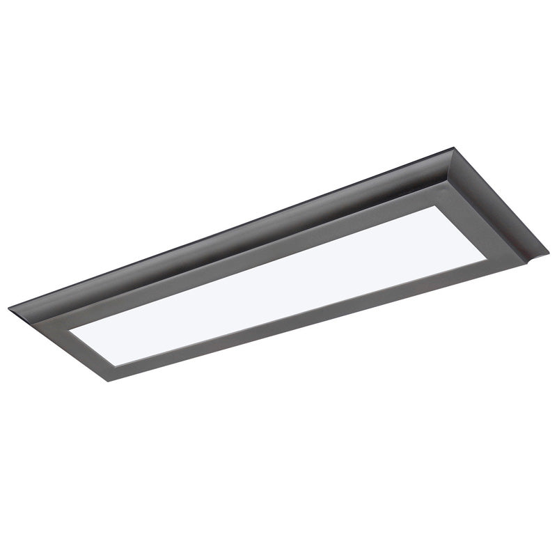 Nuvo Blink Plus 22w LED 5x24in Surface Mount LED Fixture - Bronze - 3000K