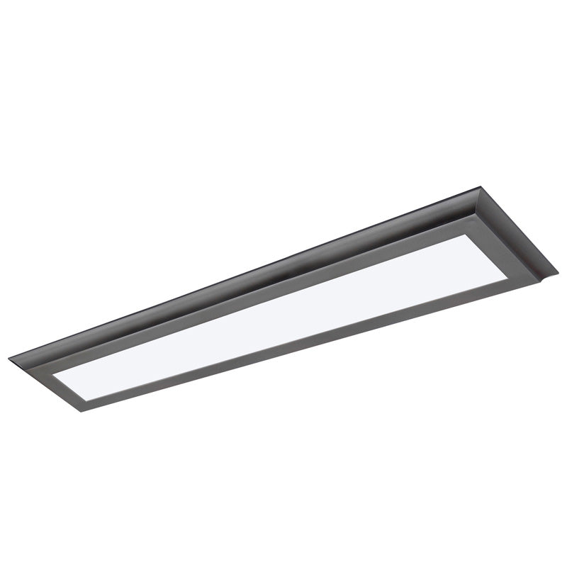 Nuvo Blink Plus 30w LED 5x36in Surface Mount LED Fixture - Gun Metal - 3000K